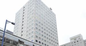 事務所ビル外観(駅徒歩1分/直結・ドーム型通路)